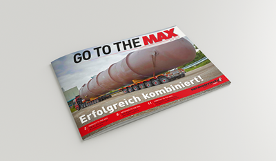 """Go to the MAX"" nr. 26 - The news magazine by the Faymonville Group"