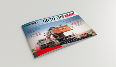 """Go to the MAX"" nr. 27 - The news magazine by the Faymonville Group"