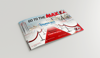 """Go to the MAX"" nr. 25 - The news magazine by the Faymonville Group"