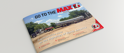 """Go to the MAX"" nr. 24 - The news magazine by the Faymonville Group"