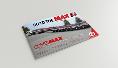 """Go to the MAX"" nr. 22 - The news magazine by the Faymonville Group"