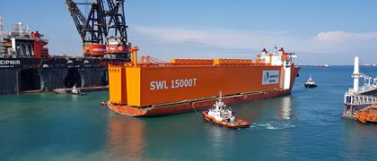 15,000t! The world's largest project ever done on self-propelled trailers by Cometto!