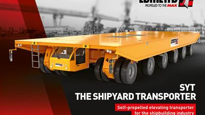 Discover the new brochure about the shipyard transporter!