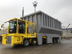 Industrial elevating transporters designed for steel mill applications at Kilic