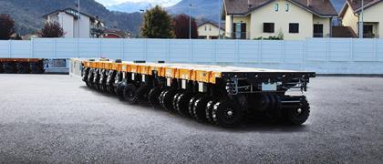 Cometto MSPE self-propelled trailer