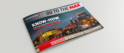 """Go to the MAX"" nr. 29 - The news magazine by the Faymonville Group"