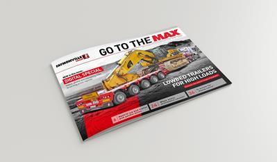 """Go to the MAX"" nr. 32 - The news magazine by the Faymonville Group"