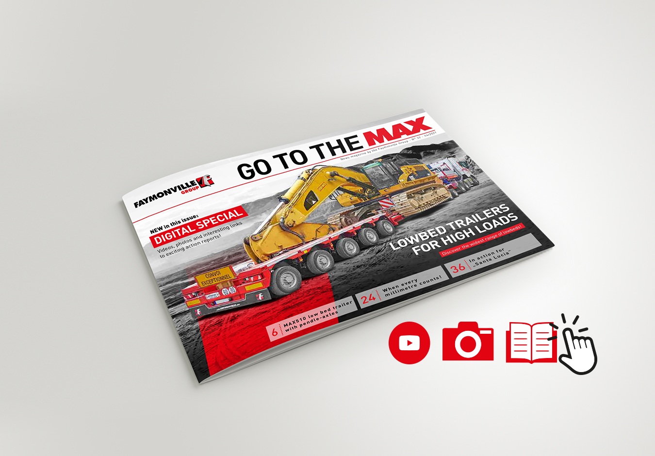 "Digital special! That's the new INTERACTIVE ""Go to the MAX"""